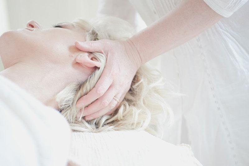 a healthy scalp
