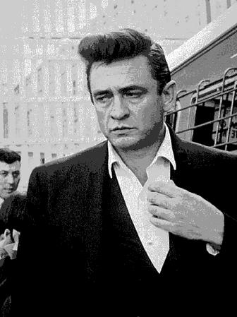 Johnny Cash Pompadour hairstyle